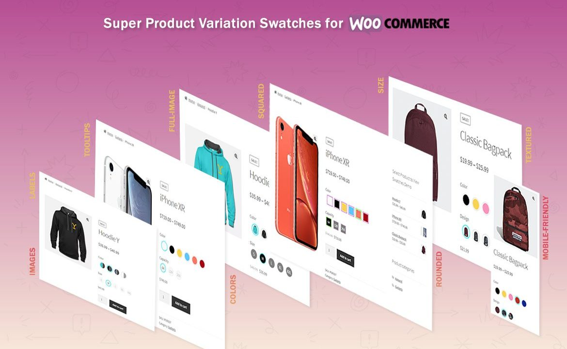 افزونه WooCommerce Variation Swatches